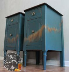 End Tables In Abyss by That Sweet Tea Life   Feature @ #FridaysFurnitureFix-80