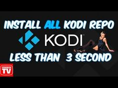 HOW TO GET NEARLY EVERY REPOSITORY FOR KODI IN JUST A FEW STEPS - YouTube