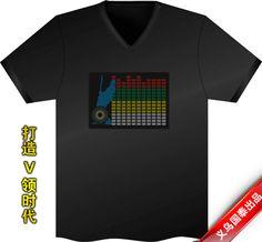 cool flashing t-shirt Cool Gadgets, Cool Stuff, T Shirt, Tops, Women, Fashion, Supreme T Shirt, Moda, Tee