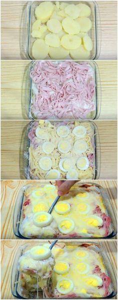 Almoço de Preguiçoso | Não tem desculpa pra não cozinhar! Prepare essa delícia bem rapidinho, você vai adorar! #almoço #almoçodepreguiçoso #comidarápida