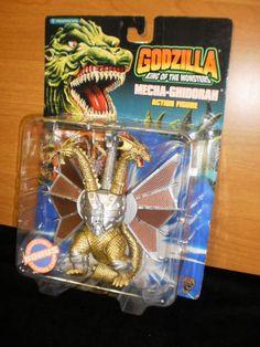 Mecha-Ghidorah Action Figure 1994 Trendmaster Godzilla, King of the Monsters