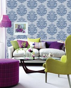 Living Room Wall Colors Design Creative In The Ideas For Colorful Home Wall Colour, Room Wall Colors, Living Room Colors, Small Living Rooms, My Living Room, Living Room Interior, Living Room Decor, Interior Room Decoration, Interior Design