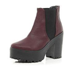 czerwone buty z river ailand