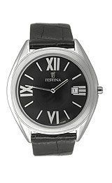 Festina Men's Leather Strap watch