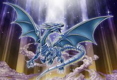 Blue-Eyes White Dragon [Artwork 8] by ALANMAC95 on DeviantArt