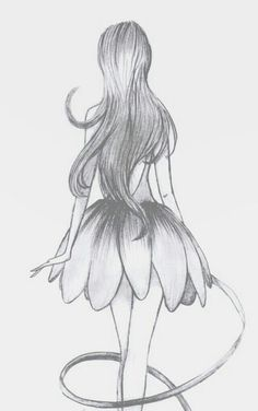Ballet wallpaper on We Heart It Disney Drawings Sketches, Girl Drawing Sketches, Girly Drawings, Princess Drawings, Art Drawings Sketches Simple, Pencil Art Drawings, Realistic Drawings, Pencil Sketches Of Girls, Arte Copic