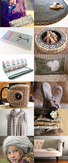 Warm and Cozy by Gerry on Etsy--Pinned with TreasuryPin.com