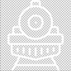 Icon Dampflokomotive