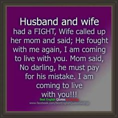 #husband and wife # humor
