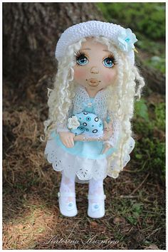 Avtorskaya und ihre Puppe