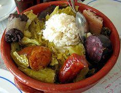 Cozido à Portuguesa....uma porção pequena...hihihi
