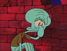 Spongebob Memes, Cartoon Memes, Cartoon Icons, Cartoons, Squidward Meme, Spongebob Squarepants, Cartoon Drawings, Cartoon Art, Cartoon Characters