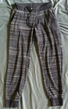 Juicy Couture Velour Joggers Grey White Sz XS WOW #JuicyCouture #Joggers