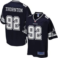 Cedric Thornton Dallas Cowboys NFL Pro Line Youth Player Jersey - Navy - $74.99