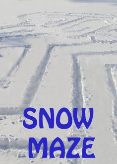 Life with Moore Babies: Build a Snow Maze for Active Winter Fun Snow Activities, Winter Activities For Kids, Gross Motor Activities, Steam Activities, Winter Games, Kids Fun, Snow Much Fun, Snow Fun, Snow Theme