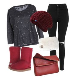 """""""Untitled #72"""" by assidreamer on Polyvore featuring ONLY, Topshop, UGG Australia, Eddie and Keds"""