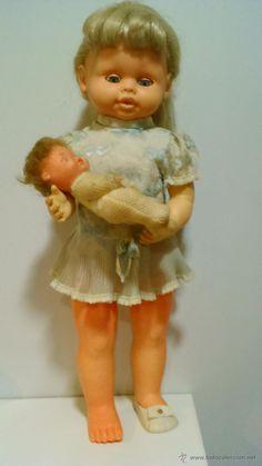 muñeca luchy mama de jesmar con luchyto