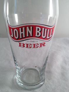 John Bull, the beer, beer glass, 5.5in