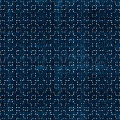 Sashiko: Kakuju-Tsunagi - Connected angles fabric by bonnie_phantasm on Spoonflower - custom fabric Sashiko Embroidery, Japanese Embroidery, Hand Embroidery Designs, Embroidery Stitches, Embroidery Supplies, Embroidery Ideas, Japanese Textiles, Japanese Fabric, Textile Patterns