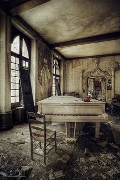 I can't help but to adore the forgotten and lost. Doesn't matter if it's an old train station, abandoned factory, long lost amusement park or a rundown mansion that hasn't seen life in years except that of trees and bushes. I love it