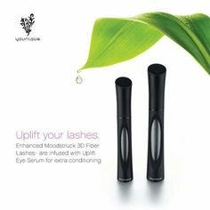 New tubes with clear window that shows when you need to reorder!! + fibers are infused with the Uplift Eye Serum. Just amazing
