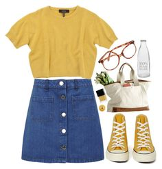 """""""Untitled #87"""" by tamara-xox ❤ liked on Polyvore featuring Miss Selfridge, Isabel Marant, Converse, Garden Trading, Butter London, Burt's Bees, women's clothing, women, female and woman"""