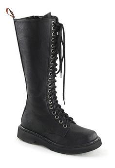RIVAL-400 Black Combat Boots