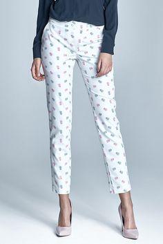 Smotanovo-ružové nohavice SD23