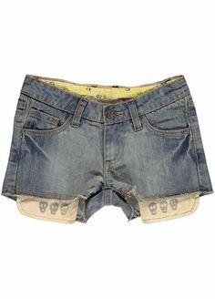 Model Otha Mädchen Denim Shorts
