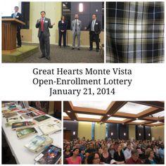 Great Hearts Monte Vista Open-Enrollment Lottery January 21, 2014   San Antonio Charter Moms
