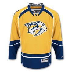 21d68c0e5f Cheap Nashville Predators Reebok Premier Replica Home NHL Hockey Jersey  Father day sale