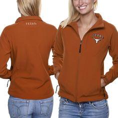 Texas Longhorns Women's Athena Full Zip Jacket - Orange
