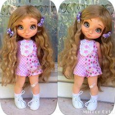 Disney animators doll ooak enixeatelier by Enixeatelier on DeviantArt Disney Princess Dolls, Disney Dolls, Doll Patterns, Clothing Patterns, Disney Collector Dolls, Dolly Dress, Disney Animator Doll, Doll Repaint, Little Doll