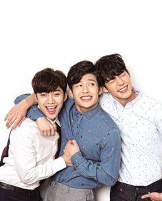 Junho, Kang Ha Neul, and Kim woo Bin in Twenty