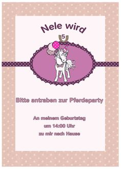 Türtier: Pferdegeburtstag Teil 1