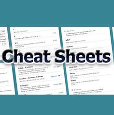 80+ Cheat Sheets And Infographics For Programmers! java, java script, C, C…