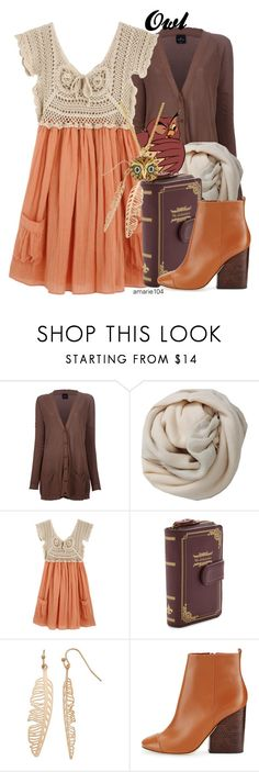 """Owl"" by amarie104 ❤ liked on Polyvore featuring Gotha, Brunello Cucinelli, LC Lauren Conrad, Tory Burch and Kenneth Jay Lane"