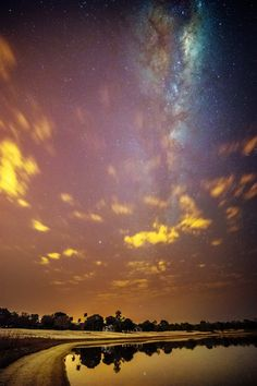 A few minutes after the Sunset and the Milky Way by Valter Patrial on 500px