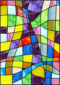 stained glass window faux privacy stained glass clings and window films - Decorative Window Film Stained Glass