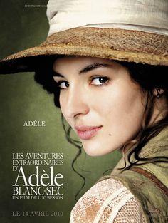 Visuels du film Les aventures extraordinaires d'Adèle Blanc-Sec
