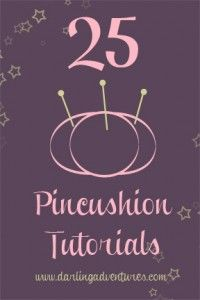 pincushion tutorials