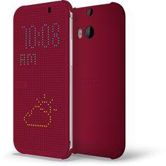 HTC One (M8) Dot View Case - Baton Rouge
