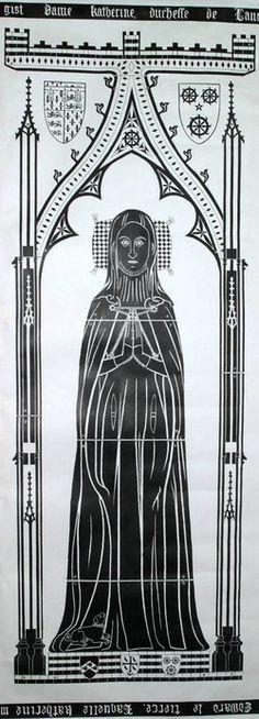 Katherine de Roet Swynford Duke Of Lancaster, John Of Gaunt, Geoffrey Chaucer, Lincoln Cathedral, British History, Asian History, Tudor History, Ancient History, Tudor Dynasty