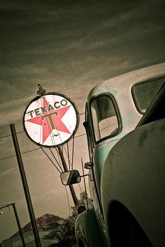 You can trust your car, to the man who wears the star.....the big, bright Texaco star!