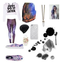 """Galaxy"" by maddyt0321 on Polyvore featuring Vans, Coal, Aéropostale and Givenchy"