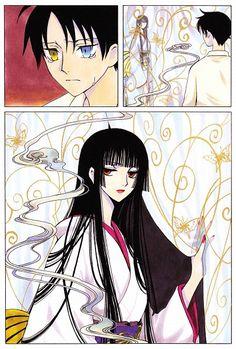 Tags: Anime, xxxHOLiC, Watanuki Kimihiro, Scan, Ichihara Yuuko