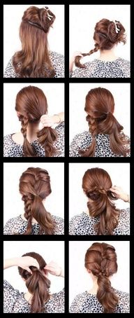 Beauty Tutorials: #Hair tutorials