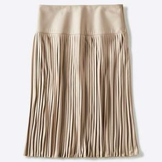 WOMEN U PLEATED MIDI SKIRT
