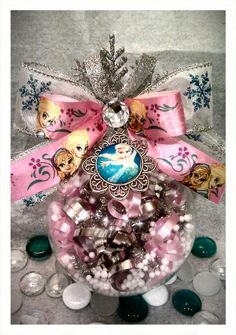 Frozen Ornament made by me!