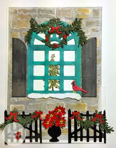 Check out Susan Tierney-Cockburn's project - 'Carolina Christmas Window Scene Card' in the Elizabeth Craft Designs' new eBook - The Crafters Chronicle: Holiday Head Start - Winter & Holiday Edition 2016! You'll also find a step-by-step instructions, helpful videos, a supply list, and more! Download your FREE eBook here: http://www.elizabethcraftdesigns.com/pages/landing